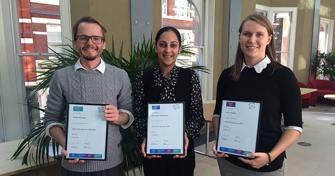 CPD Award Winners 2016
