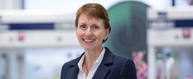Helen Sharman OBE CMG FRSC