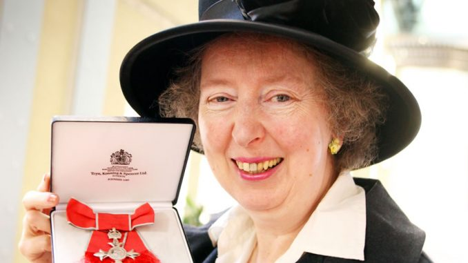 Margaret Ross MBE