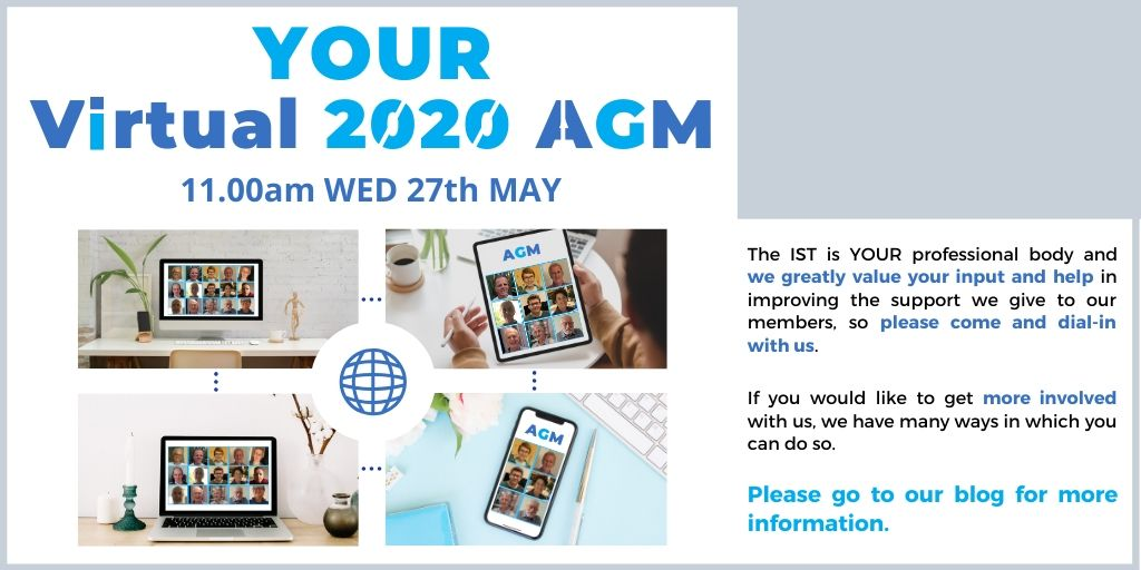 IST AGM 2020 - Online Sign up Now to dial-in