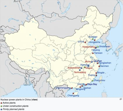 Chinese-Nuclear-Power-Plant-Map
