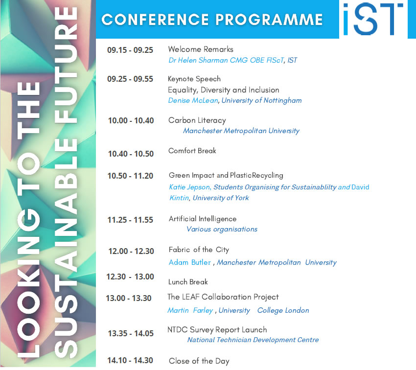 Conference 2021 Programme