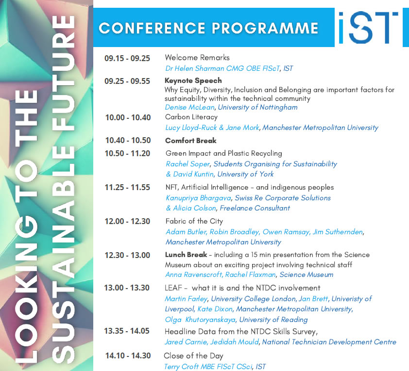 Conference Programme 2021
